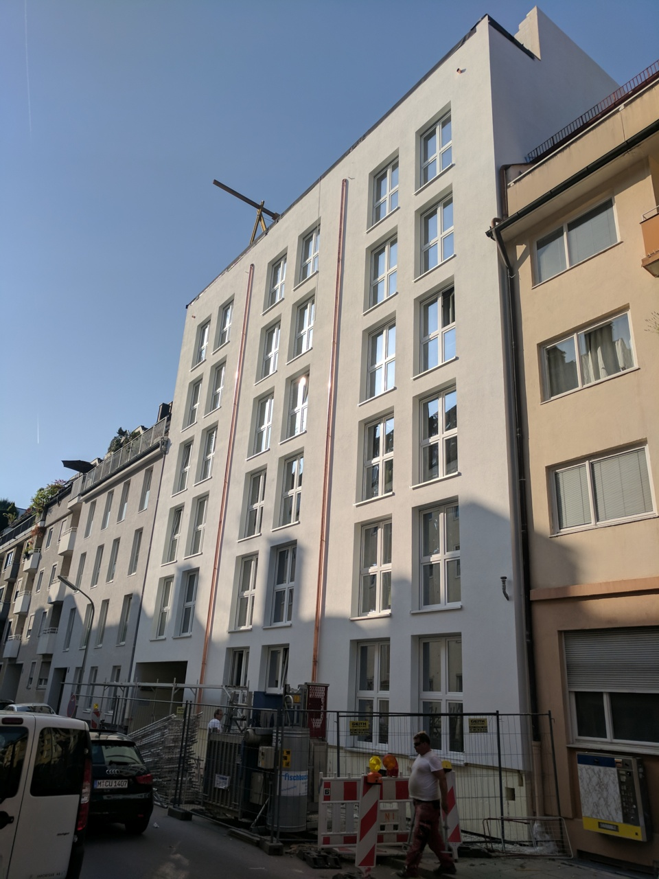 Neue Fassade Emanuelstrasse 18