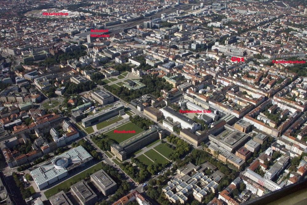 Luftbild Studentenwohnheime: Weitere, grössere Luftbilder hier